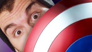 Что, если бы Капитан Америка ударил вас ...