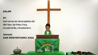 Ibadah Hari Minggu - 14 Juni 2020