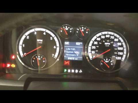 Reset Oil Maintenance Light - 2008 To 2012 Dodge Ram