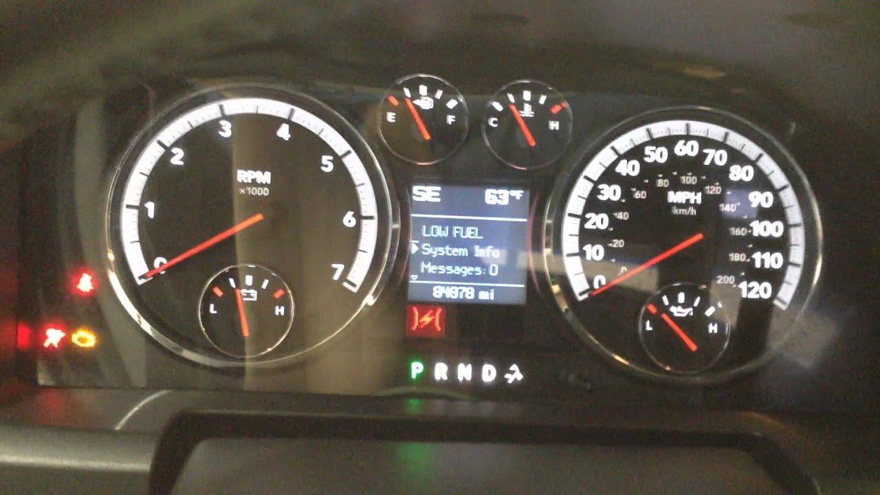 2012 Dodge Ram Warning Lights Decoratingspecial Com