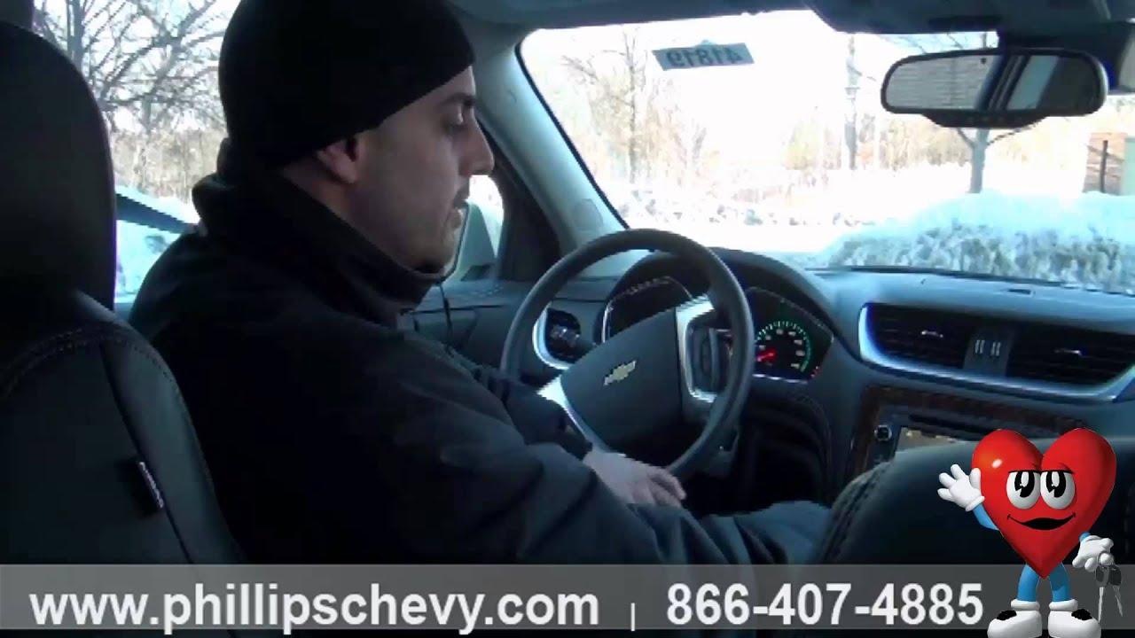 Phillips Chevrolet 2014 Chevy Traverse Side Blind Zone Alert