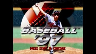VR Baseball '97 (PS1) - Let's Play