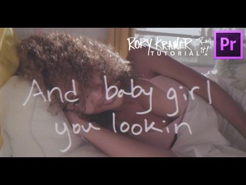 Rory Kramer Lyric Video Effect Tutorial!