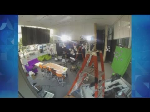 Timelapse: WOOD TV8 GRAM studio construction, part 1