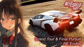 【NFSR】NFS Rivals Lamborghini Veneno Grand Tour + Final Pursuit (RE:Ending)