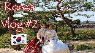Korea vlog #2: Mặc hanbok - Gặp