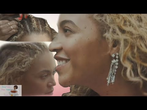 Beyonce's REAL HAIR Is LONG And Is Revealed In NEW Vogue Video! Blue Ivy, The Twins, And MORE!