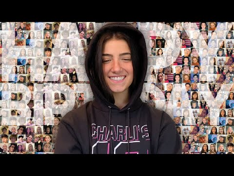 Charli's Birthday Shoutout Reaction