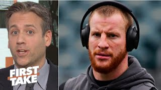 Max Kellerman rips Carson Wentz: His instincts are gone and he
