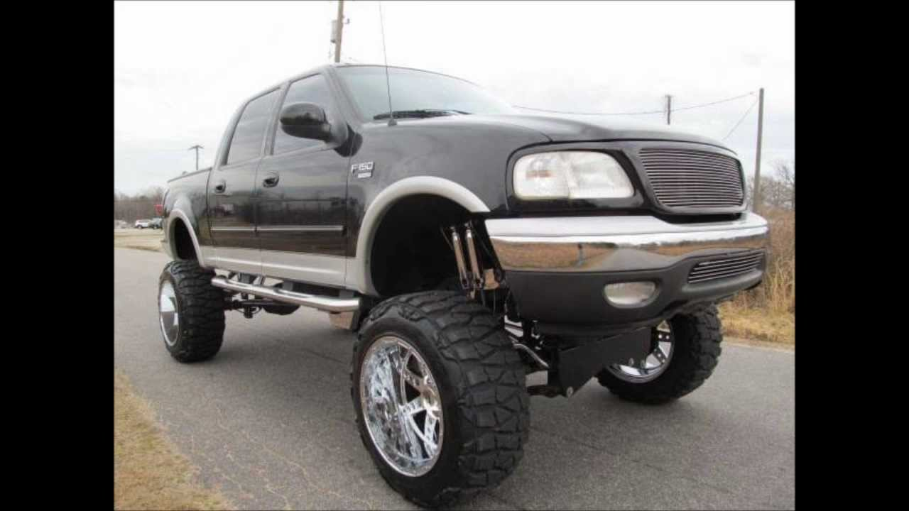 Lifted Ford F150 For Sale >> 2002 Ford F-150 Lariat Lifted Truck For Sale - YouTube