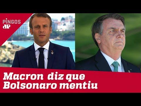 A malandragem de Macron com a Amazônia