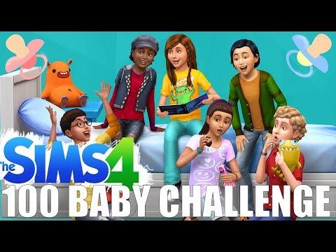 LIVE: 100 baby challenge :--D
