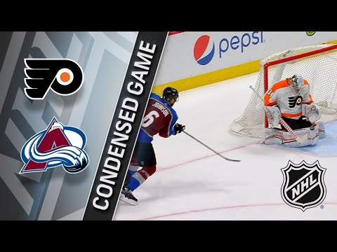 03/28/18 Condensed Game: Flyers @ Avalanche