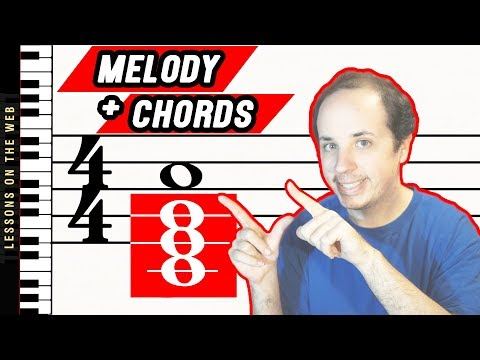 How to Add Chords to a Melody on the Piano: 6 Steps