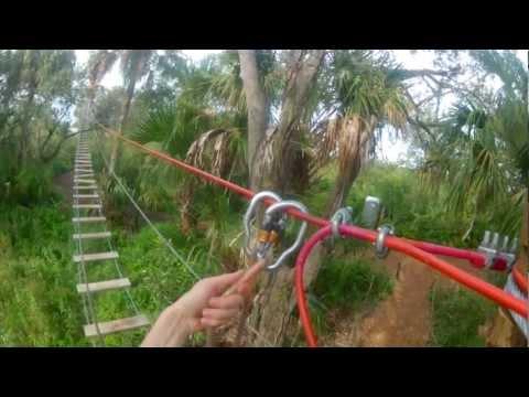 Treetop Trek in Brevard Zoo