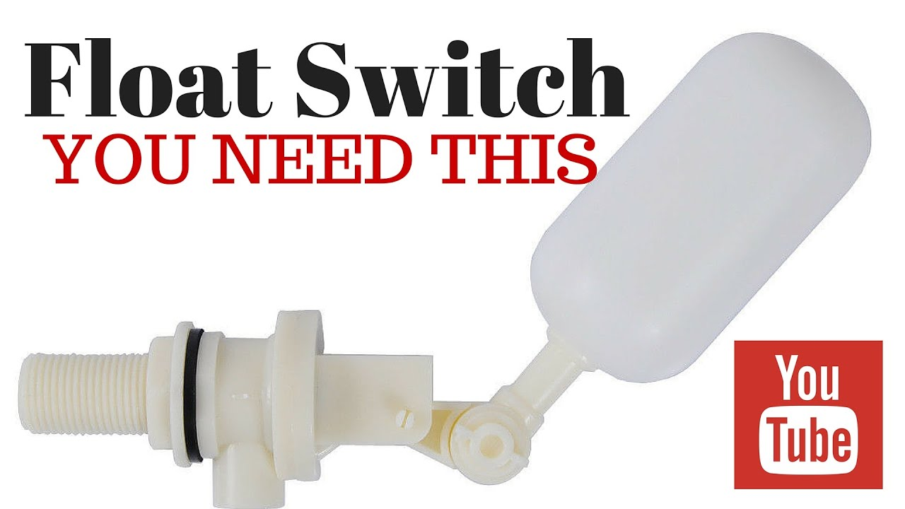 Float Switch For Making Saltwater At Home Saltwater