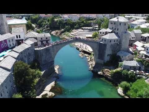 Bosnia and Herzegovina Travel - Mostar and nice places 2017