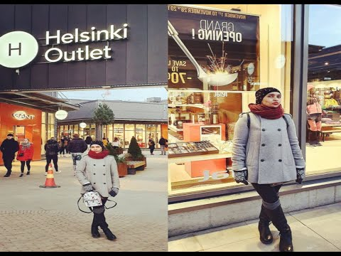 Helsinki Outlet-  Nordic Fashion Village Finland In English