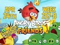 Angry Birds Friends Tournament Week 257-B Levels 1 to 6 Power Up Mobile Compilation Walkthroughs