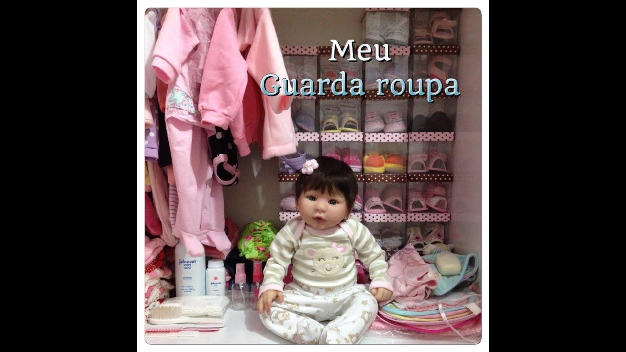 Guarda Roupa Bebe ~ O guarda roupa da minha beb u00ea Reborn Manuelle YouTube