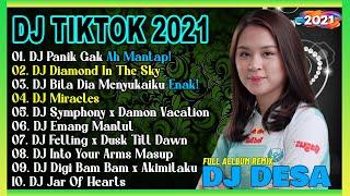 DJ TIKTOK TERBARU 2021 - DJ PANIK GAK FULL BASS VIRAL REMIX TERBARU 2021
