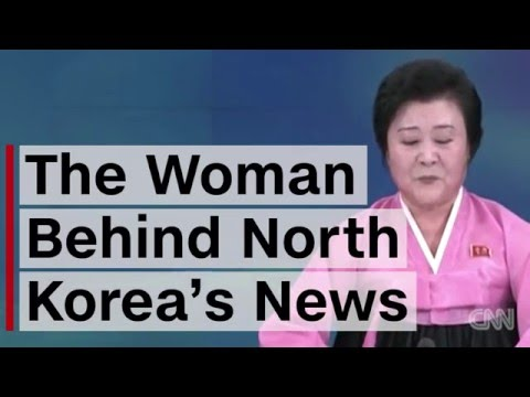 North Korea's Revered News Anchor