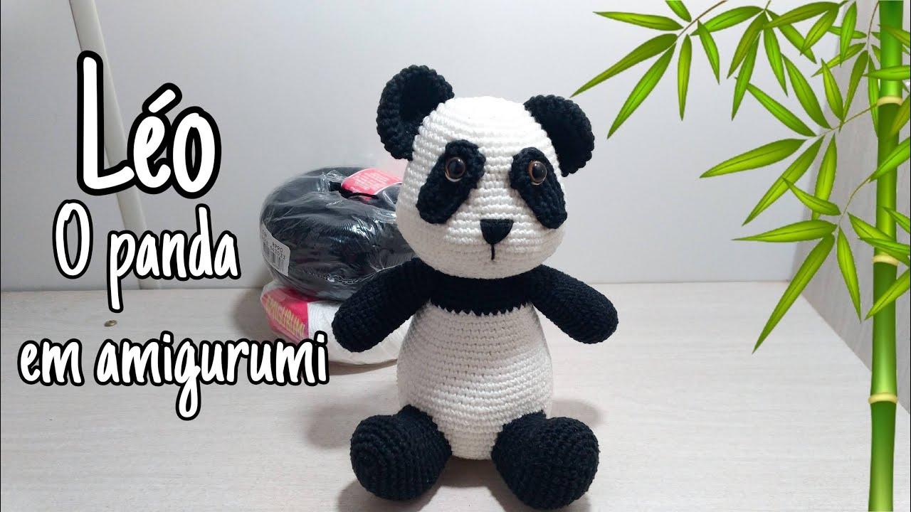 ursinho panda amigurumi parte2 - YouTube | 720x1280
