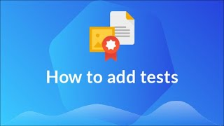 How to add tests