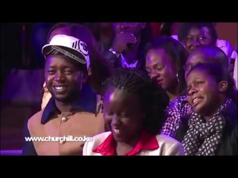 FLORENCE ANDENYI PERFORMING KIBALI ON CHURCHILL SHOW