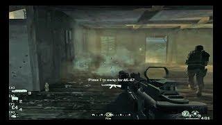 Call of Duty Modern Warfare 4   Blackout Act 1   Nikolai Rescue