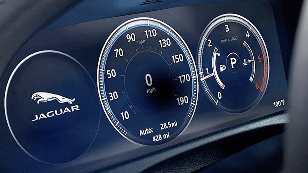 New Honda Accord 2018 >> Jaguar XF 2018 | Virtual Instrument Cluster - YouTube