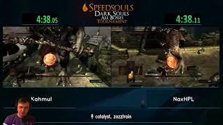 Гранд Финал турнира по Dark Souls. Последняя игра.