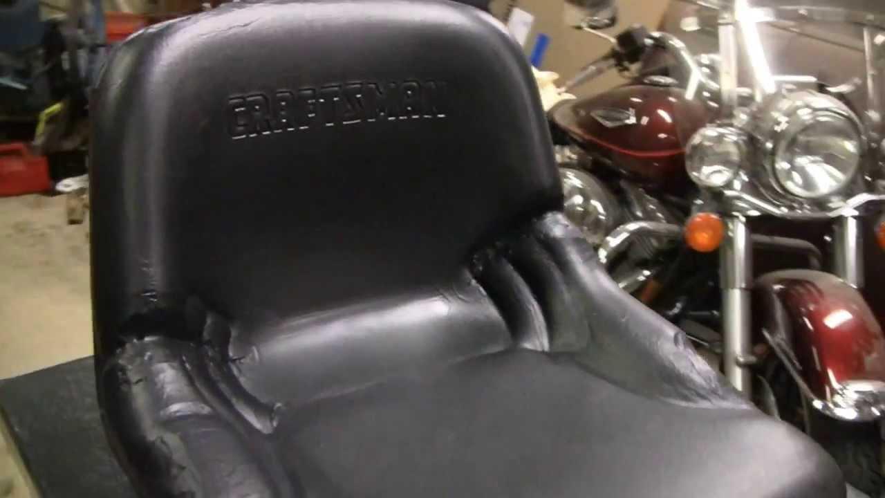 plasti dip seat repair youtube. Black Bedroom Furniture Sets. Home Design Ideas