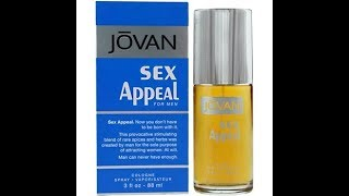 Review Jovan Sex Appeal