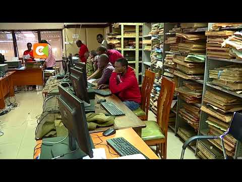 Land ministry automates land registry