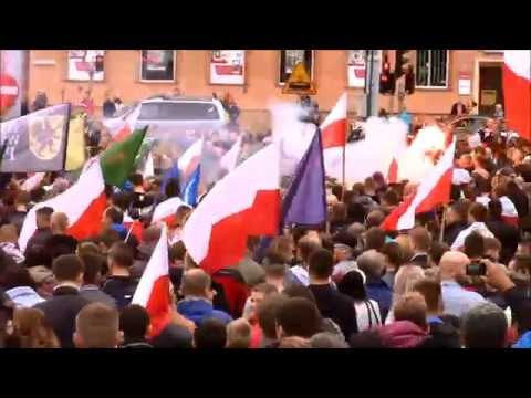 Free Europe TV - Nie Dla Imigrantów W Gdańsku - 2015-09-12 / Poles Against Immigrants [PL]