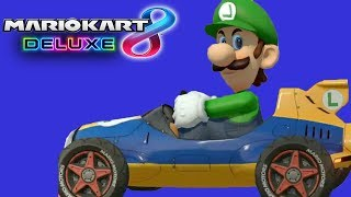 Mirror Mode Madness!!! (Mario Kart 8 Deluxe Funny Moments)
