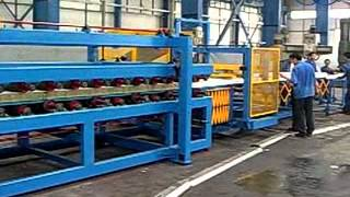 EPS/Mineral Wool Sandwich Panel Production Line process