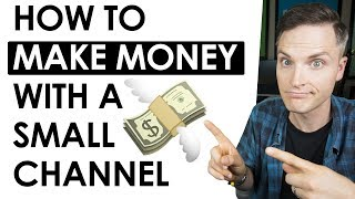 Video 5 Ways to Make Money on YouTube with a Small Channel download MP3, 3GP, MP4, WEBM, AVI, FLV September 2018