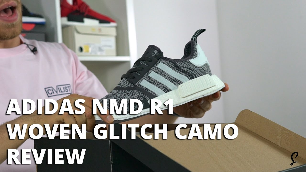 Adidas NMD R1 Runner Nomad Black White Reflective 3M Champs
