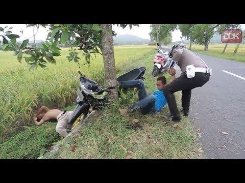 KASIHAN..!! GARA GARA TIDAK PAKAI HELM..!! #CINGIRE