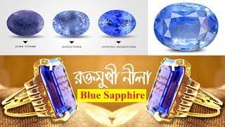 রক্তমুখী নীলা পাথর গুনাগুন, কাজ, মূল্য, নিলা পাথরের উপকারিতা  Benefits of Blue Sapphire or Nilam Rat