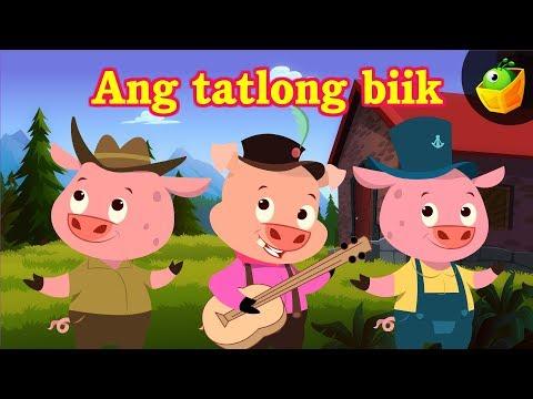 Ang Tatlong Biik [Three Little Pigs]   Bedtime Stories   MagicBox Filipino