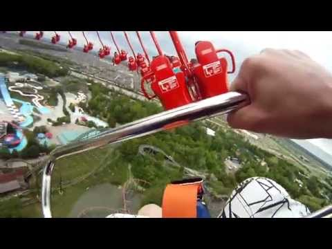 Leviathan Front Seat on-ride HD POV Canada's Wonderland ...