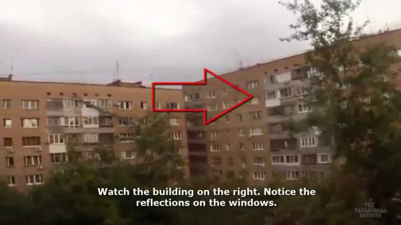 Giant Alien Creature Caught On Roof In Russia 2015 New