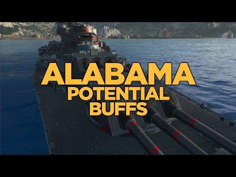 World of Warships - Alabama Potential Buffs