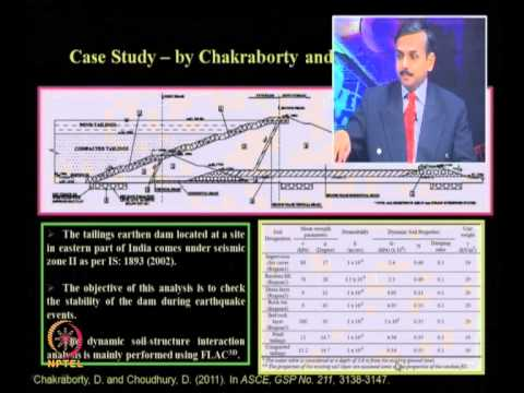 Mod-09 Lec-39 Seismic Analysis and Design of Various Geotechnical Structures (continued) part –VI