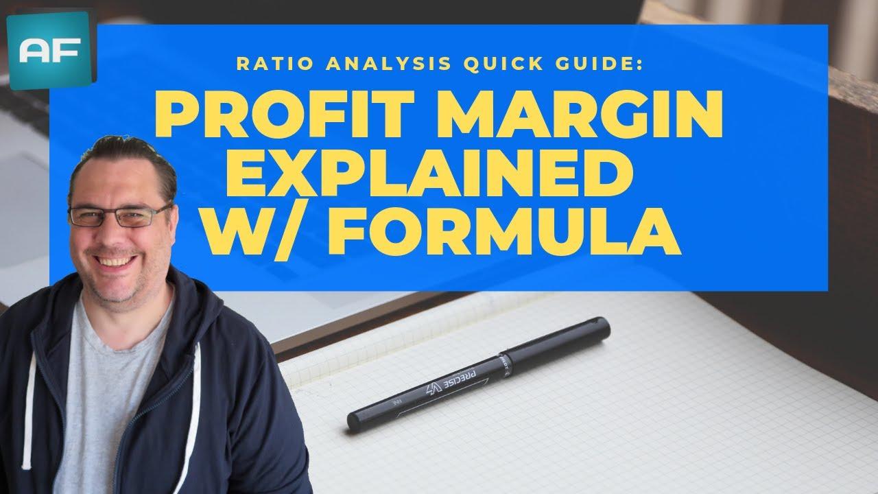 Profit Margin Explained + Formula: How To Calculate U0026 Use The Profit Margin  Profit & Loss Template Free