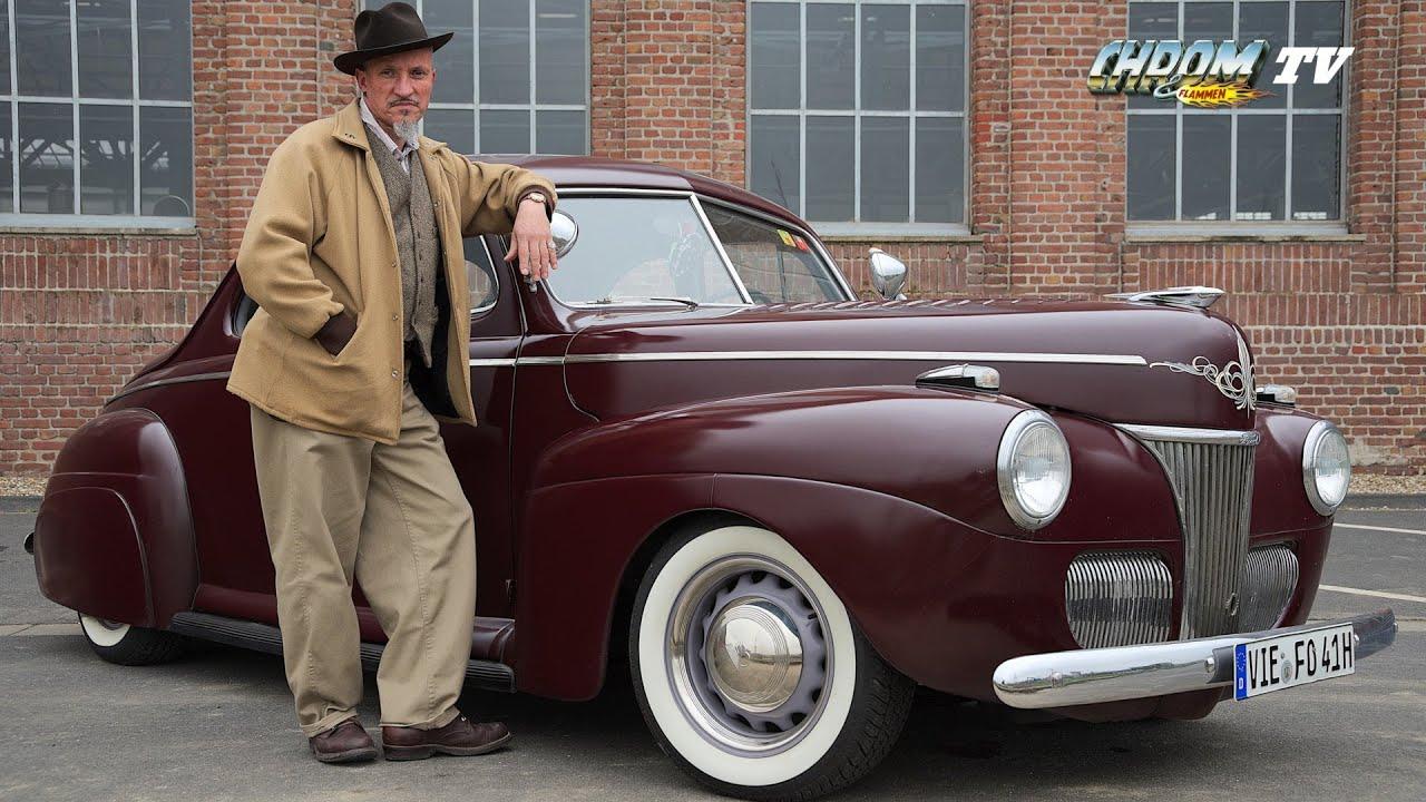 Chrom Flammen Tv 2 1941 Ford Business Coupe Aus Der Hot Rod