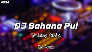 DJ TENTANG CINTA [IPANG] BAHANA PUI TERBARU - BANG ZOE RMX